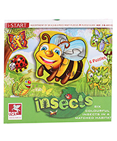 Toy Kraft - Insects Puzzle