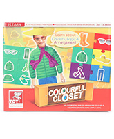 Toy Kraft - Color Closet Puzzle