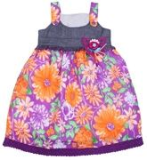 Infancy -  Singlet Frock With Lace