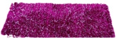 FabLooms Shaggy Premium Bed Side Runner - Dark Pink