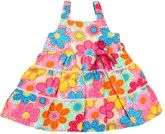 Infancy - Singlet Floral Printed Frock