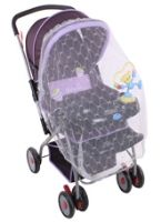 Fab N Funky - Pram With Mosquito Net Purple