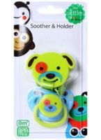 Skittles Soother And Holder 0 Months+, The Skittles Green Soother And Holder Wit...