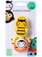 Skittles Soother And Holder 0 Months+, The Skittles Yellow Soother And Holder Wi...