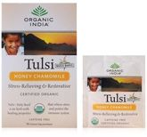 Organic India Tulsi Tea Honey Chamomile