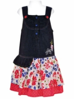 Nauti Nati - Girls Jumper Denim