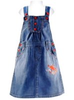 Nauti Nati - Girls Jumper Denim Pocket style
