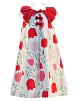 Nauti Nati - Sleeveless Tulip Printed Frock
