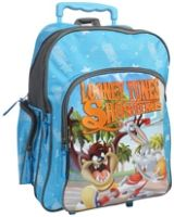 Looney Tunes - Trolley School Bag Blue 18 Inches