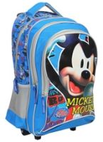 Mickey - Blue Trolley School Bag 18 Inches - Length 18 Inches