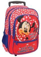 Minnie - Red Trolley School Bag 16 Inches - 11.5 x 30 x 46 cm