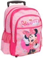 Minnie - Pink Bag With Stroller Handle 16 Inches