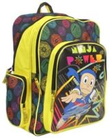 Ninja Hattori - Printed School Bag 18 Inches - Length 18 Inches