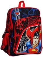 Superman - Black &amp; Red School Bag 16 Inches