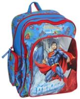 Superman - Printed School Bag 18 Inches - Length 18 inches