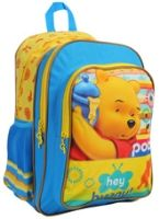 Winnie The Pooh - Blue Yellow 16 Inches School Bag