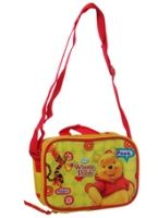 School Lunch Bag 22 X 10 X 8 Cm, Colorful And Durable Yellow And Red ...