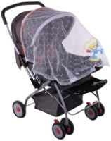 Dim Grey Pram With Net 0 - 2 Years, Portable And Easy To Fold Pram With Mos...