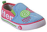 Kittens - Girls Canvas Slip On