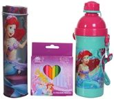 Disney - Stationery Set With Princess Print Bottle