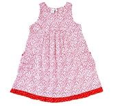 Frangipani Kids - Sleeveless Floral Printed Frock