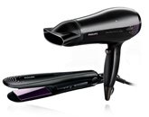 Phillips Dryer And Straightener Combo Pack - HP 8299