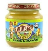 Earth's Best Organics - Pears And  Mangos