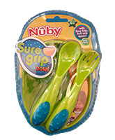 Dishes &amp; Utensils - Nuby - Sure Grip Bowl