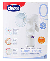 Chicco Natural Feeling Breast Pump with Anatomical Breast Cup