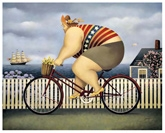 Mary's New Bike By Lowell Herrero - FAR119459810