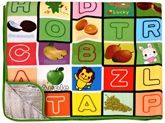Fab N Funky - Alphabet and Animals Play Mat