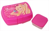 Barbie - Pink Lunch Box With Container