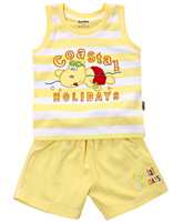 Child World - Sleeveless T-Shirt And Shorts Set