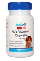 Healthvit Kid-C Chewable Vitamin C Tablets