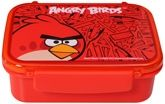 Lunch Box Red 16 x 13 x 5.6 cm, A red color lunch box with single ...