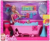 BARBIE® GLAM BATHROOM 3 Years+, Lots of imaginative playtime for your daug...
