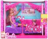 Barbie Glam Bedroom 3 Years+, Barbie doll is all about fashion and style...
