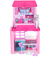 Glam Vacation House 3 Years+, Barbie dolls glamorous vacation home to ho...