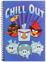 Angry Birds - Chill Out Print Spiral Notebook