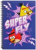 Angry Birds - Super Fly Spiral Notebook