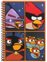 Angry Birds - Space Theme Spiral Notebook