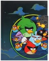 Angry Birds - Magnetic Notebook