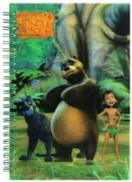Jungle Book - 3D Spiral Notebook