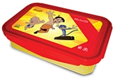 Printed Lunch Box 900 Ml, Durable And Attractive Red And Yellow Colour...