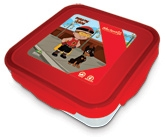 Buy Mighty Raju Red Super Lock And Seal Lunch Boxes - 350 ML
