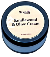 Nirwana Sandalwood & Olive Cream