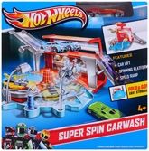 Hot Wheels - Super Spin Carwash Playset