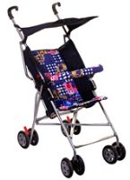 New Natraj - Umbrella Buggy DLX(Blue)