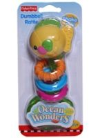 Fisher Price - Ocean Wonders Dumbell Fish Rattle