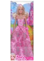 Princess Barbie Pink Dress Doll 3 Years+, Discover Barbie Fairy tale Magic with Barb...